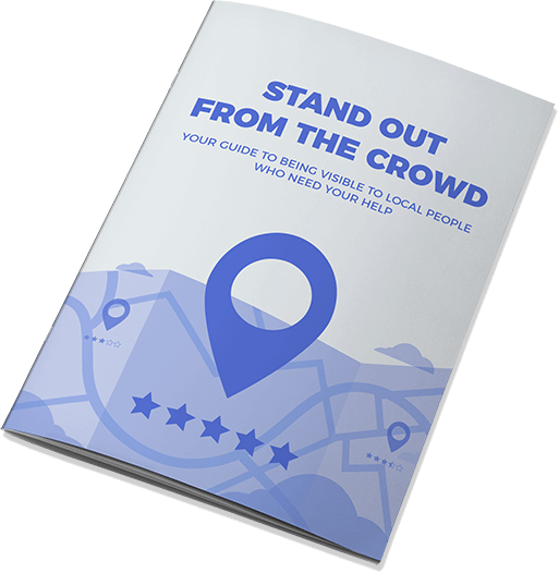 Cover of Stand Out From The Crowd Local SEO Guide
